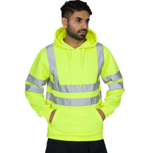 US Hooded Jacket Sweatshirt Jumper PullOver Fleece