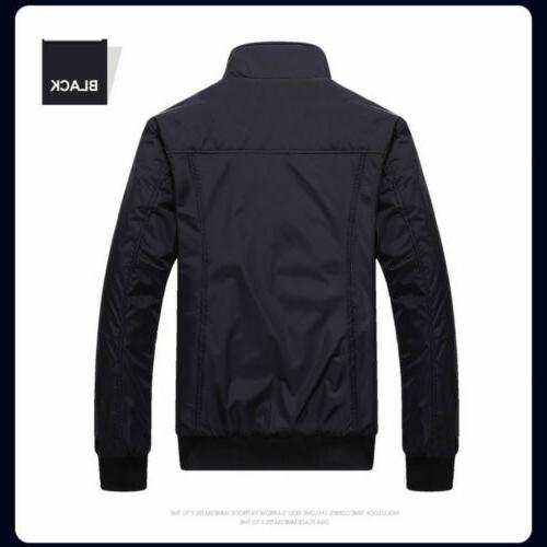 US Coats Plus Tops Classic Slim Outerwear Windbreaker