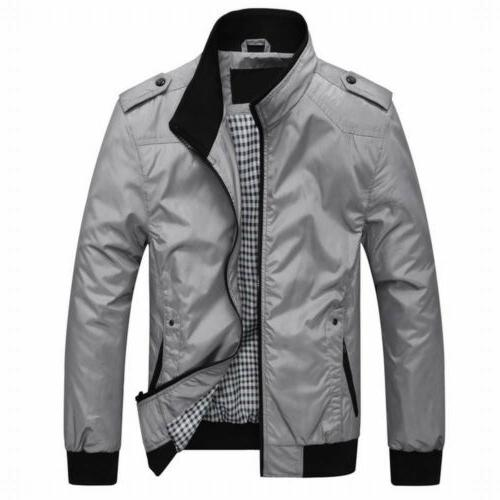 US Jackets Plus Size Classic Windbreaker