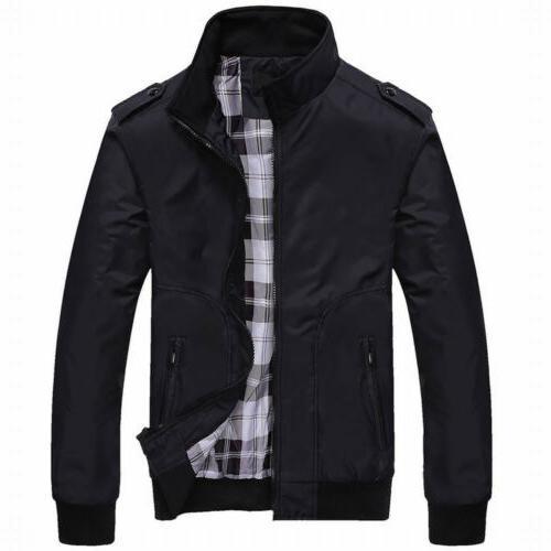 US Coats Jackets Plus Size Classic Slim