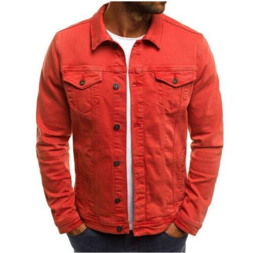 Men's Jacket Jean Single