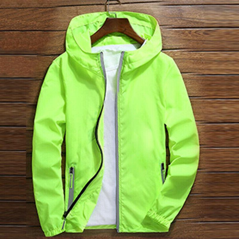 ZIPPER Jacket hoodie Sports Coat Gym
