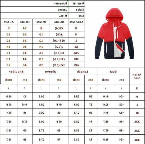 US Waterproof Zipper Sport Outwear