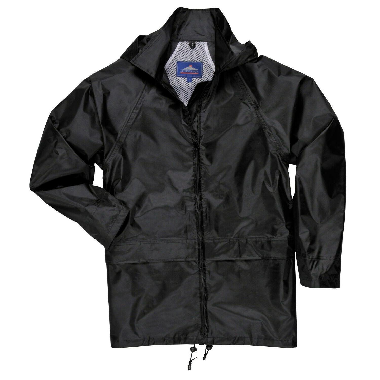 Portwest Classic Jacket, Black/Navy Available, M-4XL