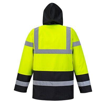Portwest US466 Hi-Vis Reflective Jacket ANSI