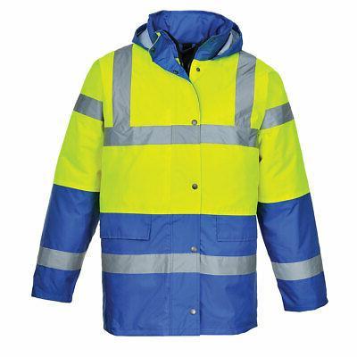 Portwest US466 Reflective Traffic Waterproof Jacket ANSI