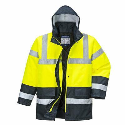 Portwest US466 Reflective Waterproof Jacket
