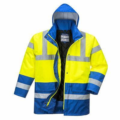Portwest Reflective Waterproof Jacket ANSI
