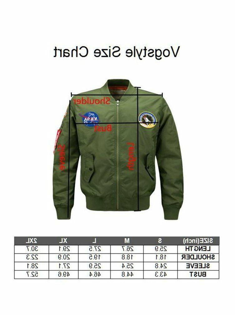 Vogstyle Hip Jacket Patch Embroidery Bomber