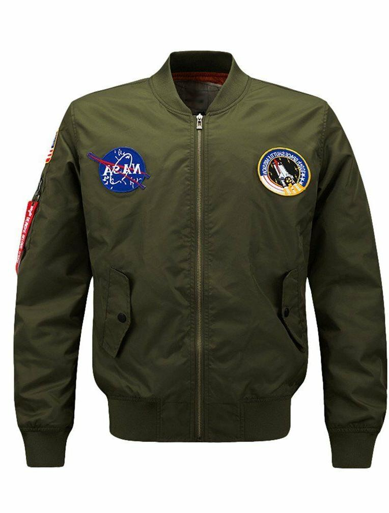 Vogstyle Jacket Air Patch Fit Bomber