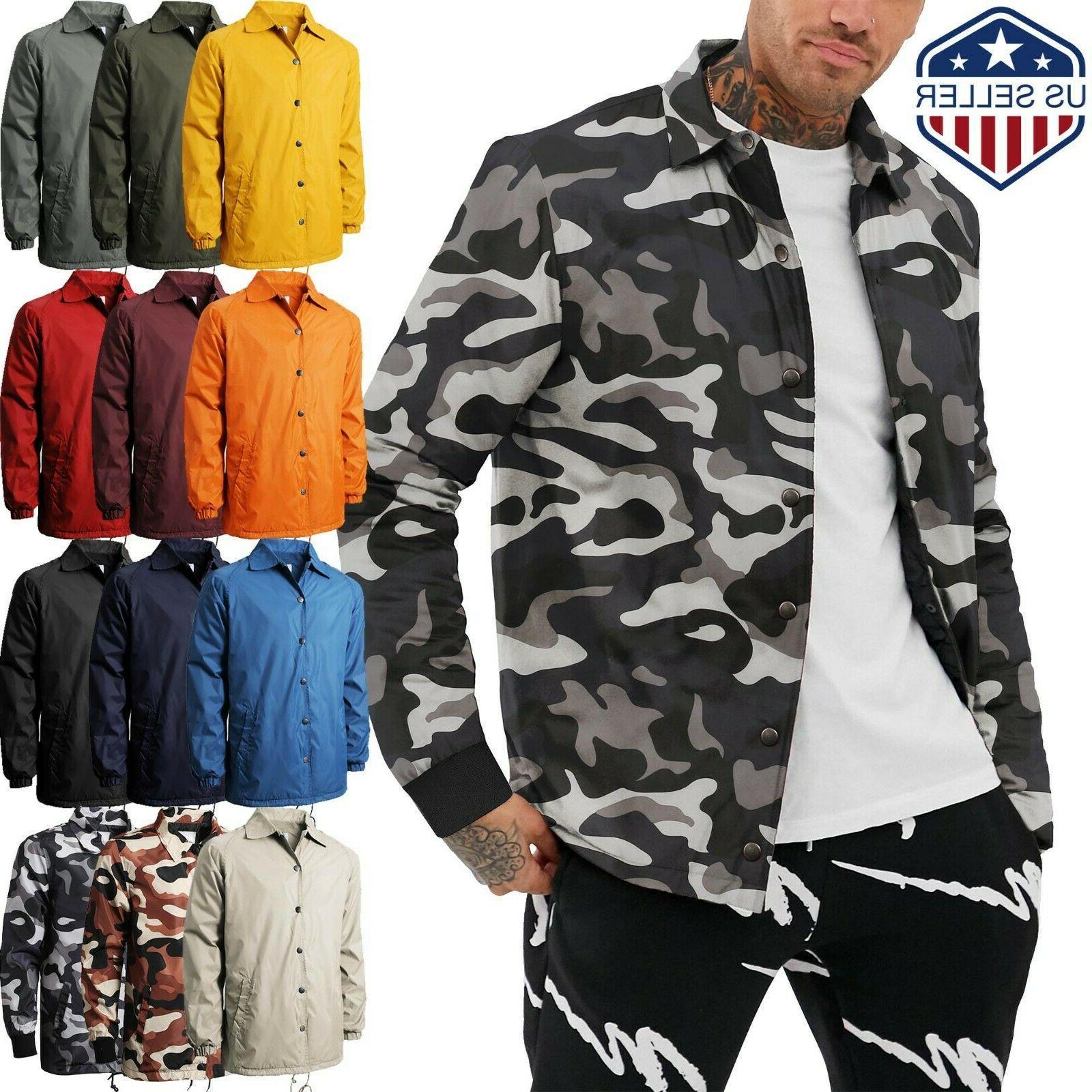 vw mens coach jacket windbreaker coat active