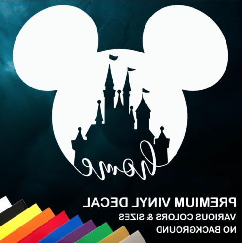 Walt Disney World Home Vinyl Window Sticker Decal