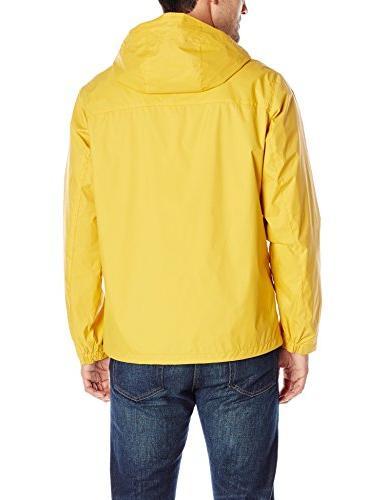 Tommy Hilfiger Waterproof Breathable Hooded Yellow, Medium