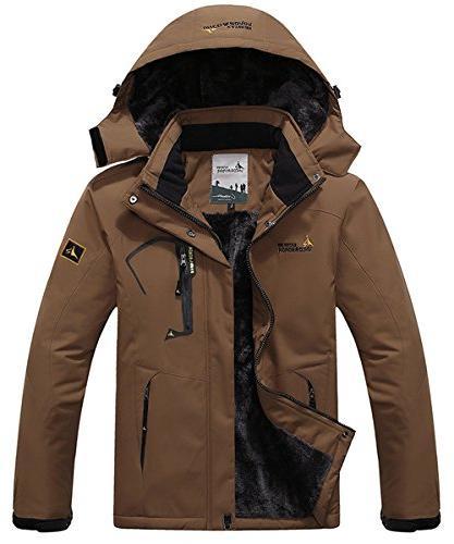 waterproof insulated fleece ski jacket