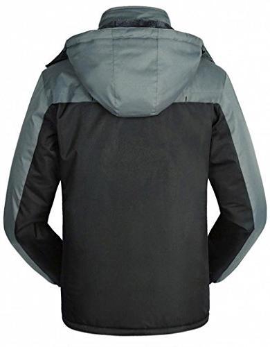 WantDo Men's Jacket Windproof Ski Jacket