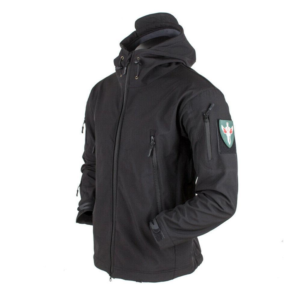 Waterproof Tactical Mens Jacket Coat Army Military Jacket
