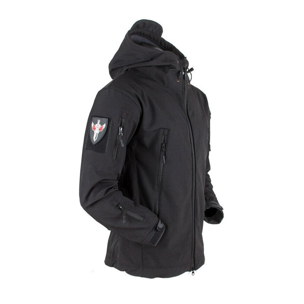 Waterproof Tactical Mens Jacket Coat Military Windbreaker