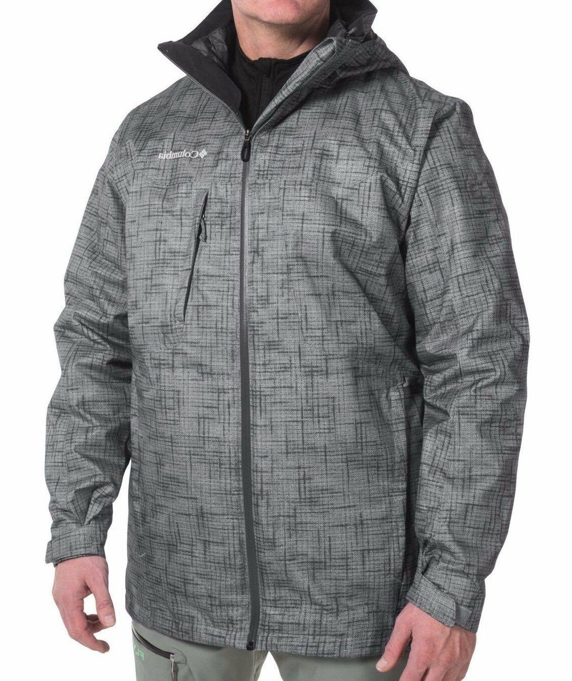 COLUMBIA Whirlibird Mens 3X/4X 3-in-1 Big/Plus Winter Parka/