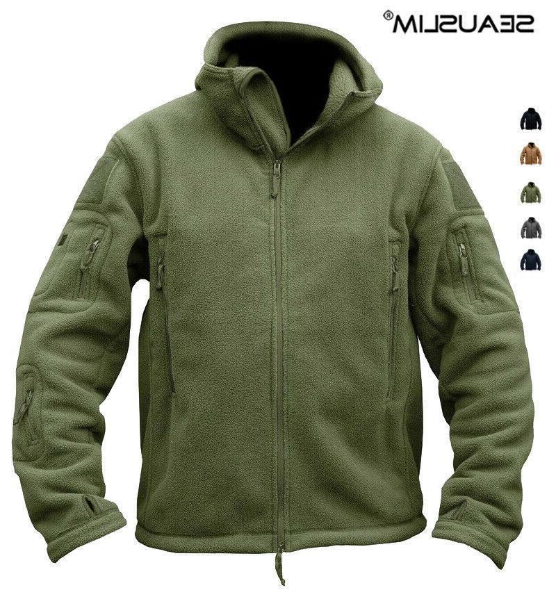 windbreaker mens fleece jackets hooded coat outdoor