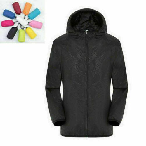 Waterproof Windproof Women Lightweight Rain