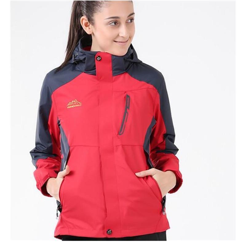 Windproof Ski <font><b>Jackets</b></font> Layers,Men Women Sport Camping Thermal Fleece Tactical