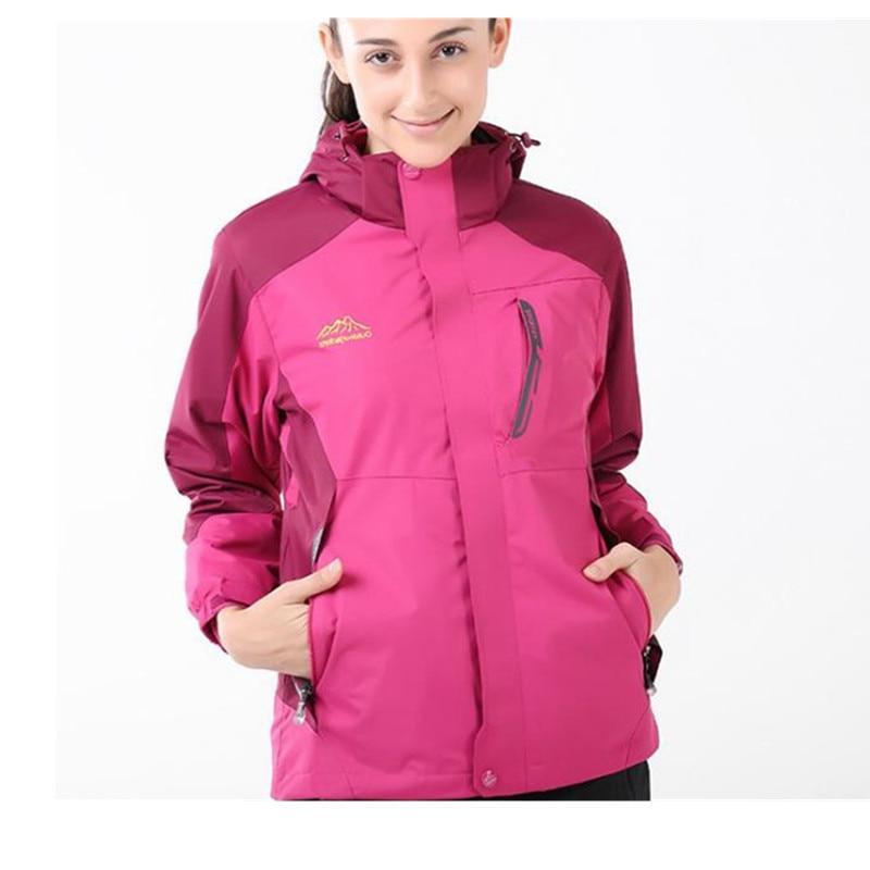 Ski 3 Women Sport Thermal Fleece Hiking <font><b>Jacket</b></font> Tactical