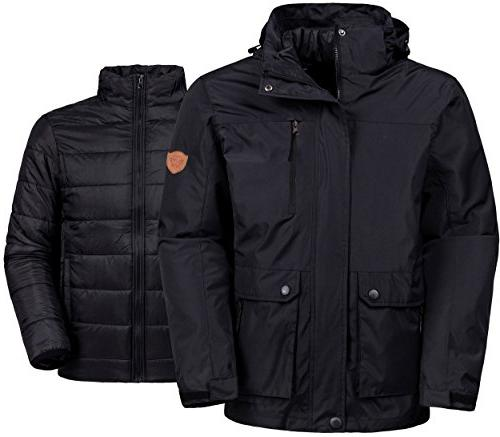 winter ski jacket water resistant