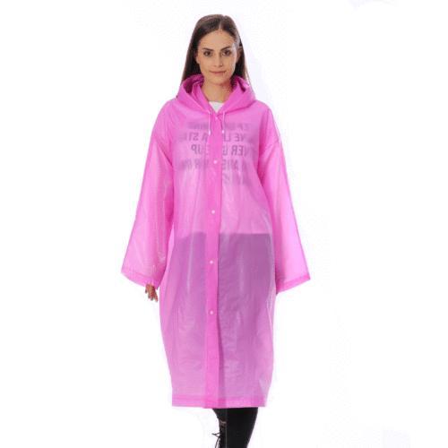 PE Rain Hooded