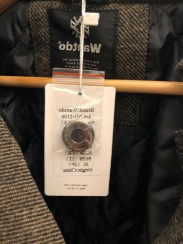 Wantdo Wool Blend Single Breasted - XL US