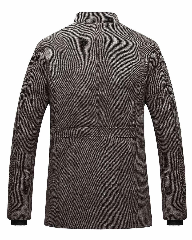 Wantdo Wool Single Breasted - Men's US - Brown