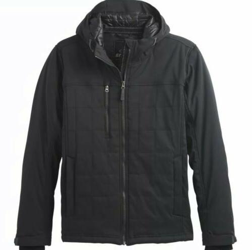 Prana Coat - Black, New,