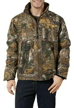 L Carhartt Quick Duck Rain Defender Realtree Camo Traditiona