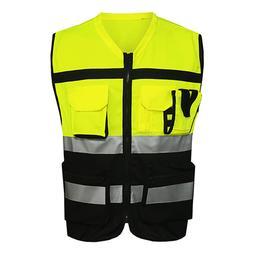 L /XL /<font><b>2XL</b></font> Cycling Vests High Visibility