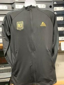 Adidas LAFC Anthem Jacket 20/21 Black And Gold Limited Editi