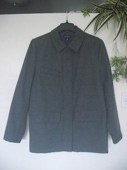 lands end mens wool coat outerwear jacket