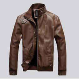 Leather <font><b>Jacket</b></font> <font><b>Men</b></font>/W