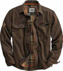 Legendary Whitetails Men's Journeyman Flannel Lined Rugged S