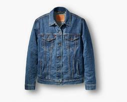 Levi's Men's Denim Trucker Jacket - Dark Stonewash - Size M
