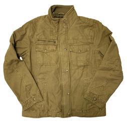 Levi's Men's Knit Collar Cotton Canvas Shell Trucker Jacket