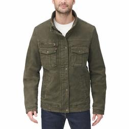 Levi's Men's Stretch Twill Jacket - GREEN  * FAST SHIPPI