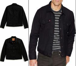Levis Trucker Denim Jacket Levi's Color Polished Black Big a