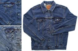Levis Trucker Jean Jacket Men's Red Tab Cotton Denim Button