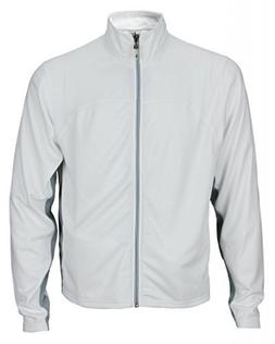 Alo Sport Men's Light Weight Runners Jacket L White
