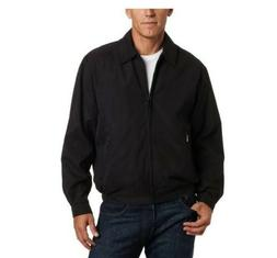 London Fog Lightweight Microfiber Golf Jacket L, Black