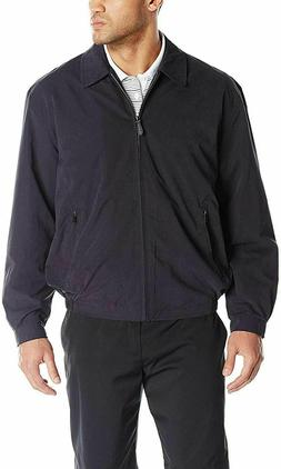 London Fog Lightweight Microfiber Golf Jacket L, Navy