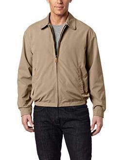 London Fog Men's Auburn Zip-Front Golf Jacket , Camel, 2X-La