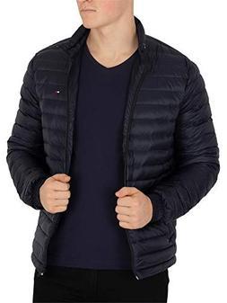 Tommy Hilfiger Men's Lightweight Packable Down Jacket XXL Bl