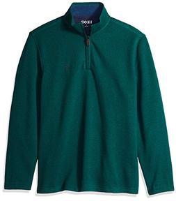 IZOD Men's Long Sleeve 1/4 Zip Sweater Fleece Soft Pullover,
