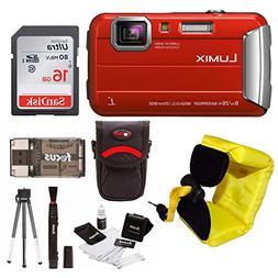 Panasonic Lumix DMC-TS30 Digital Camera  with 16GB Accessory