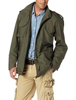 Men's Alpha Industries M-65 Field Jacket, Size Large - Green